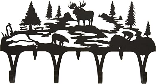 Moose coat hook