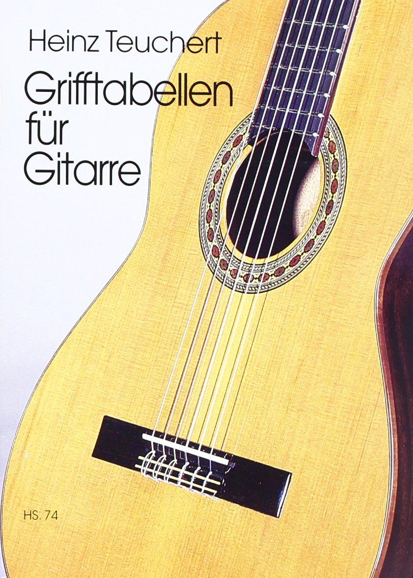 Grifftabellen für Gitarre