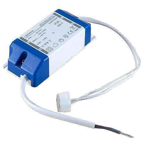 Led Hive - Transformador para luz LED, de 240 a 12 V, conector MR16
