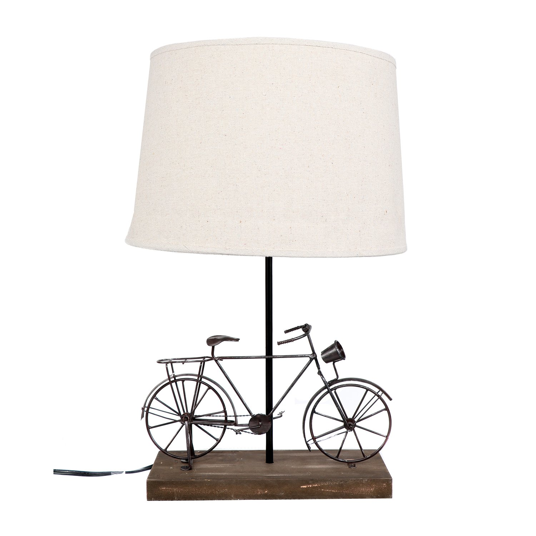 DEI Bike Décor Lamp, Medium, Black