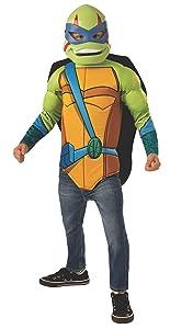 Imagine by Rubie's Child's Rise of The Teenage Mutant Ninja Turtles Deluxe Leonardo Dress Up Set, Small