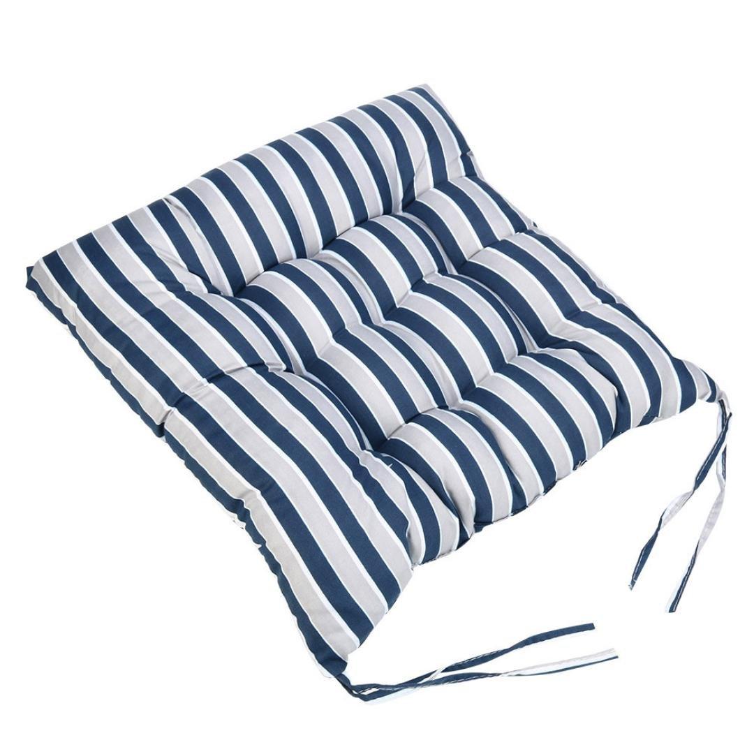 Plain Waterproof Garden Furniture Seat Chair Indoor Outdoor Cushion Covers New❤