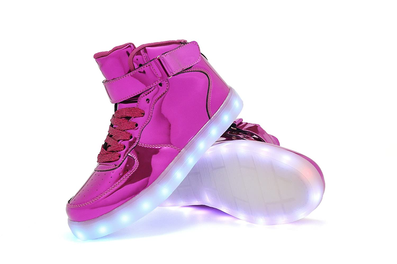 TUTUYU Kids & Adults Color LED Light Up Shoes