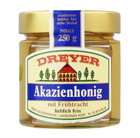 Dreyer - Akazienhonig mit Frühtracht - 250g: Amazon.de: Lebensmittel ...