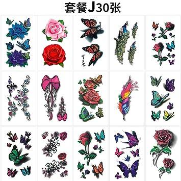 Pegatinas de tatuaje impermeables para hombres y mujeres Pegatinas ...