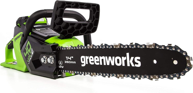 WORX WG303.1 Powered Chain Saw, 16 inch Bar Length, Red