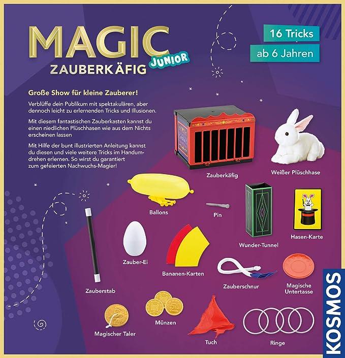 Trick- & Zauberartikel Zauberkäfig Spiel Deutsch 2018 MAGIC
