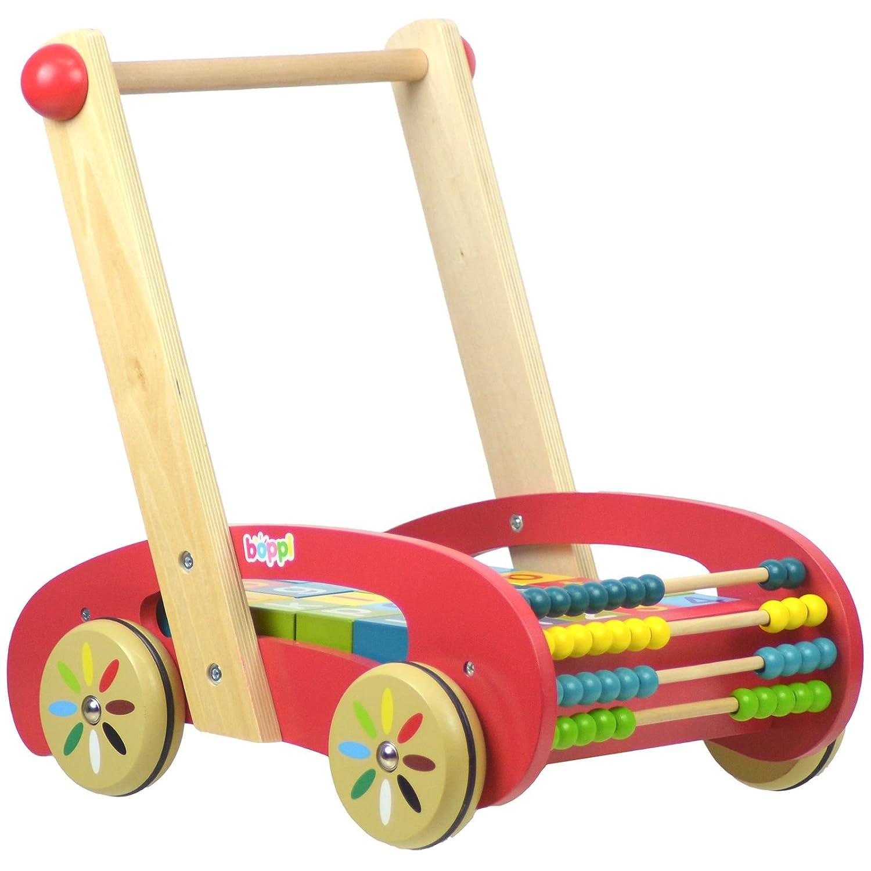 boppi® Andador de madera para aprender el alfabeto y los números