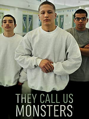 They Call Us Monsters DVD cover