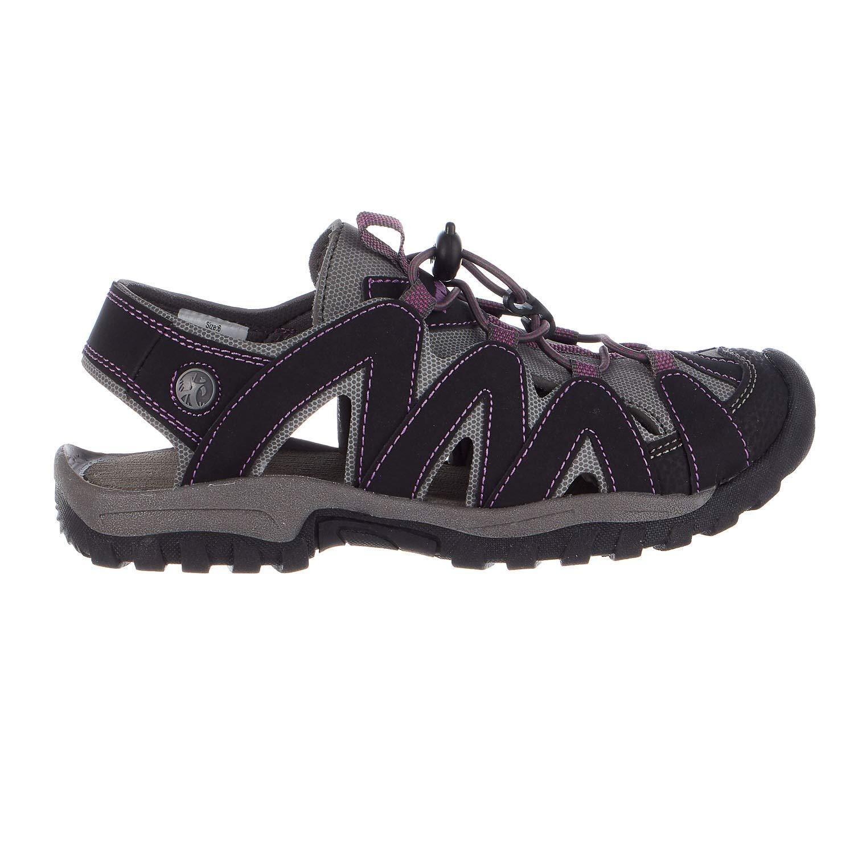 [Northside] Womens Savannah Open Toe Casual Slide Sandals [並行輸入品] 8 B US Womens ブラック B01DFU5H6S