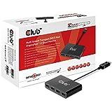 Club3D DisplayPort 1.2 to 4 Multi-Display MST Hub (CSV-5400)