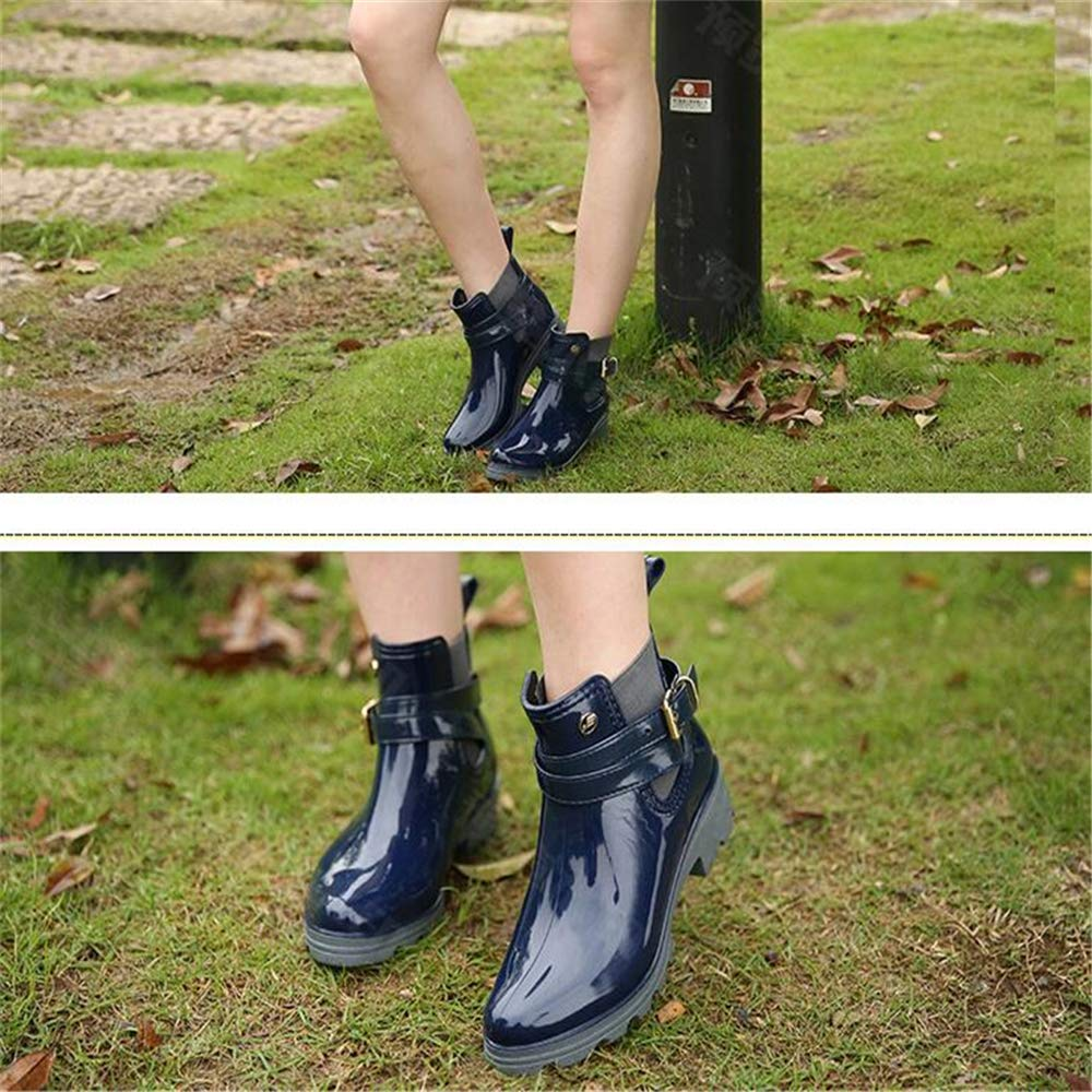excellent.c Waterproof Rubber Shoes Women's Non-Slip rain Boots Water B07H3PL21L Shoes B07H3PL21L Water Rainwear a285ac