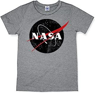 product image for Hank Player U.S.A. Black Official NASA Logo Men's T-Shirt