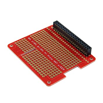 Cl DIY Proto HAT Shield for Raspberry Pi 3 and Raspberry Pi 2 Model B A B+