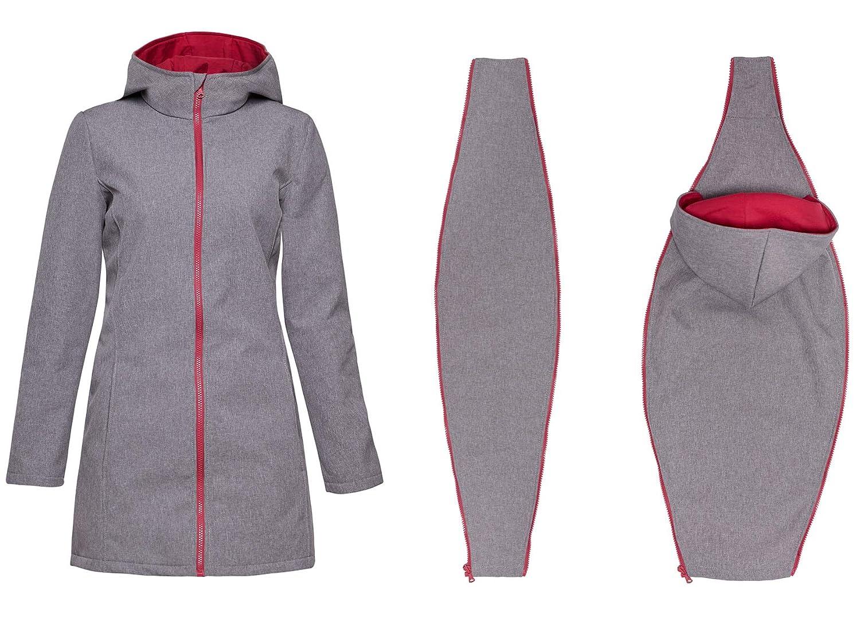 Abrigo Impermeable 3 en 1 para Mujer Columna de Agua: 10.000 mm Mama Be