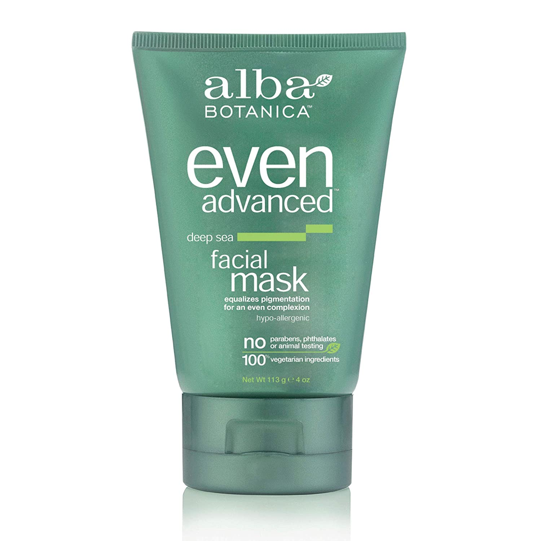 Alba Botanica Even Advanced Deep Sea Facial Mask, 4 oz.