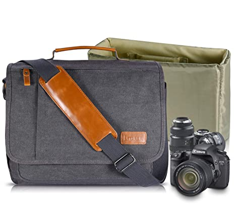estarer  : Estarer Camera Shoulder Bag for SLR/DSLR Digital ...
