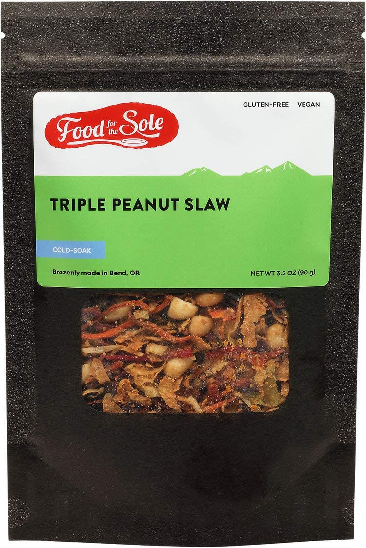 Food for the Sole | Vegan Backpacking Food | Delicious Dehydrated Food That You Just Add Water |Great for Emergency Food Supply and Camping