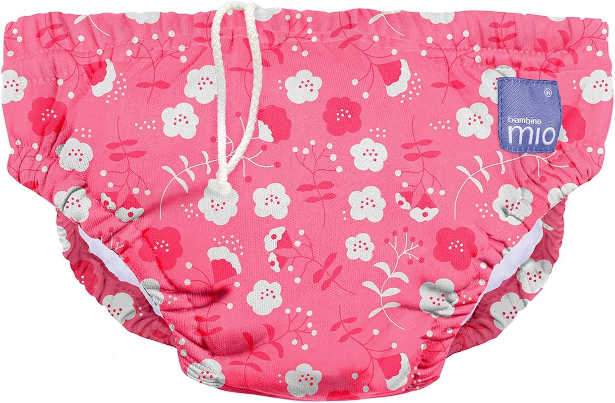 extra large reusable swim diaper Bambino Mio 2+ years whale wharf