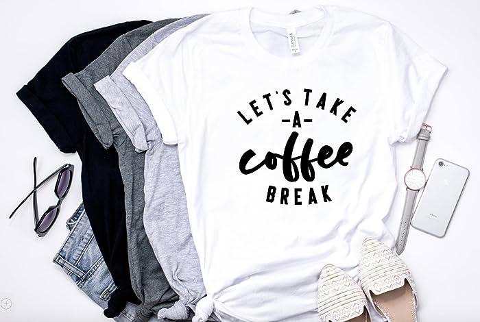 Take Break Coffeebreak : Amazon let s take a coffee break handmade