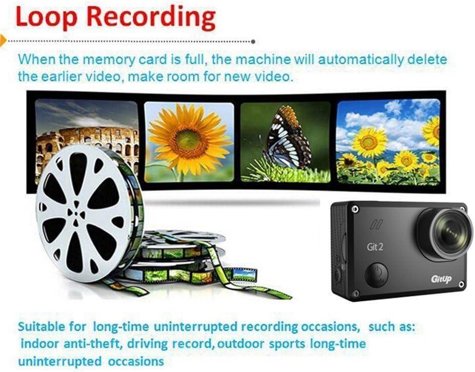 Boblov Gitup Git2 2K 30fps Novatek 96660 1080P WiFi Acción Videocámara deportiva Casco de deportes DVR Cámara impermeable con llavero (Gitup Gt2+ 16 en 1 Accesorios): Amazon.es: Deportes y aire libre