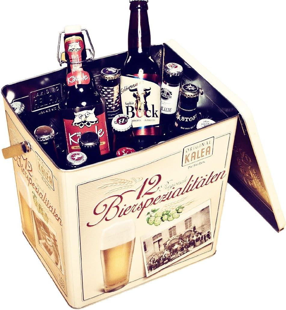 Bier-Spezitäten in Metallbox