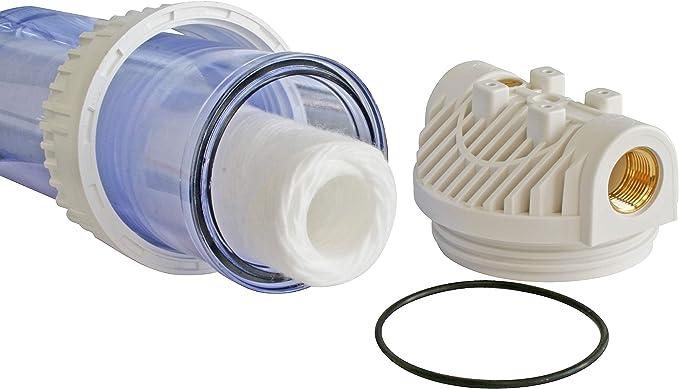 Aquawater 104175 - Estación de filtro doble con cartuchos de ...