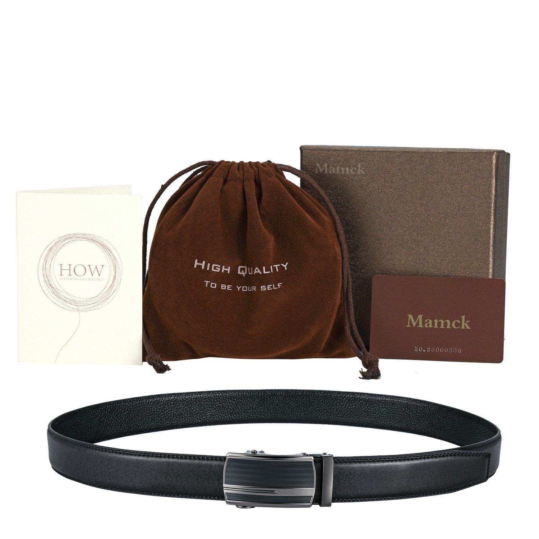 Mamck - Ceinture - Homme 130 cm - noir - Taille Unique  Amazon.fr   Vêtements et accessoires f7e85ab3e76