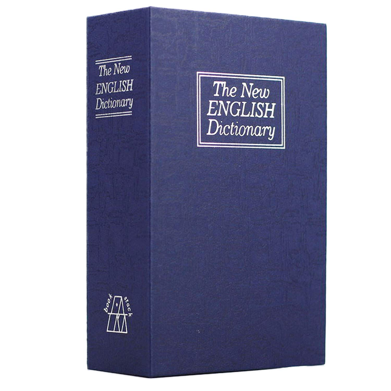 Beetest Custodia Per Libri Con Dizionario Stile Portatile Cassaforte Con Codice Di Blocco Per Scatola Dimensioni Scatola S