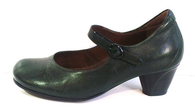 Think Spangenpumps, Antikleder taiga, herausnehmbares Fußbett für eigene  lose Einlagen, 81152-58: Amazon.de: Schuhe & Handtaschen
