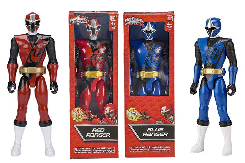 1 FIGURINE POWER RANGERS 30CM Hiper Figura Ninja Steel ...