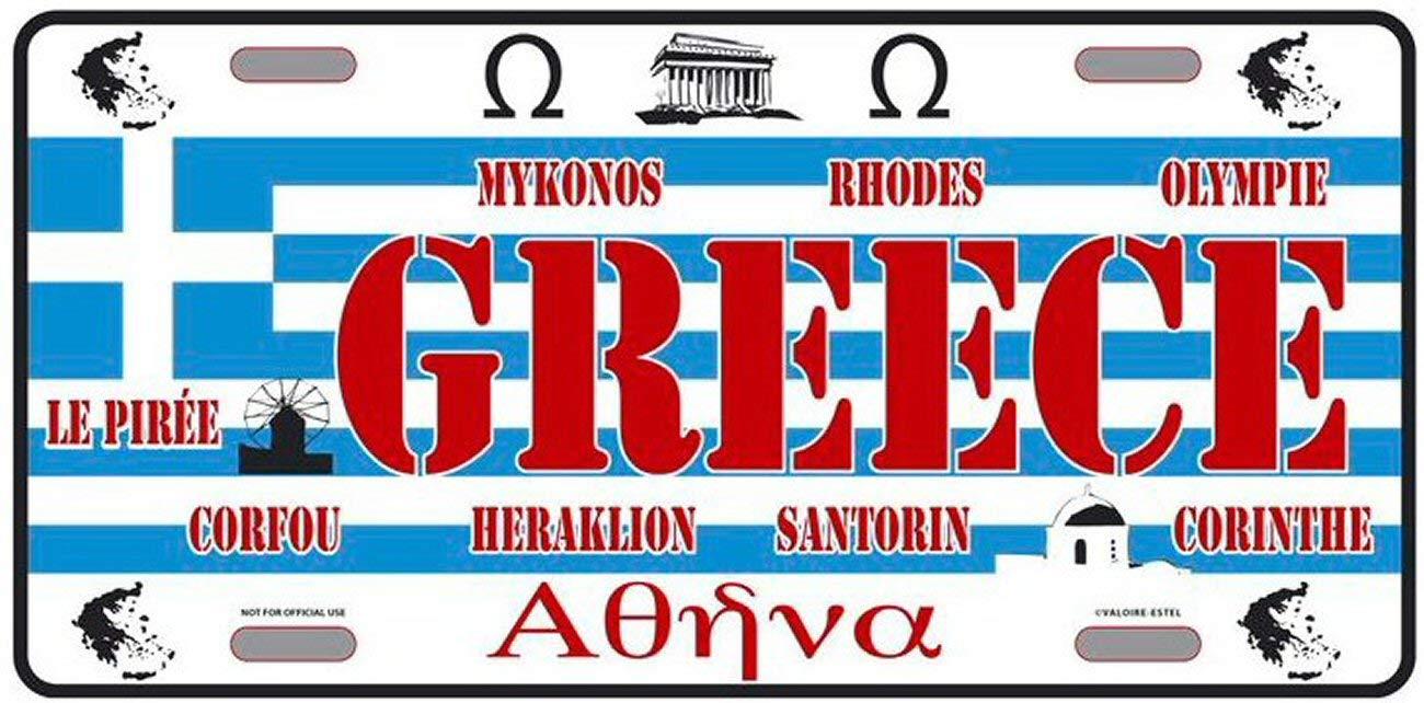 Plaque Americaine Collection Pays du Monde GRECE Greece