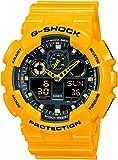 カシオ CASIO G-SHOCK Gショック ジーショック 腕時計 メンズ GA-100A-9ADR イエロー [時計] 逆輸入品