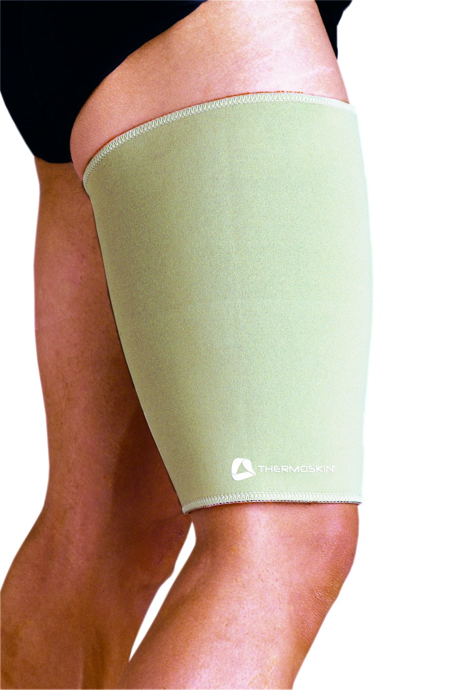 Thermoskin Thigh and Hamstring Support, Beige, Medium by Thermoskin