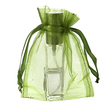 Amazon.com: Sheer Favor Bolsa de organza bolsas, 12-pack (5 ...