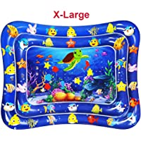 """Dycsin Tummy Time Mat Baby Water Mat Big Size XL 39"""" - Inflatable Play Mat - Baby Toys 6 to 12 Months - Baby Play Mats for Infants Babies Toddler 3 6 9 Months Newborn Boy Girl X-Large"""