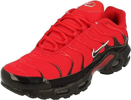 Cartero bisonte Pintura  Nike Air MAX Plus - Zapatos Informales para Hombre (Piel), Rojo/Negro/Blanco,  9.5 M US: Amazon.com.mx: Ropa, Zapatos y Accesorios
