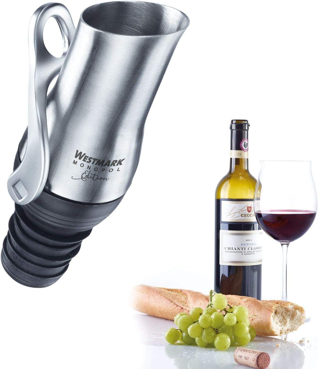 Westmark 61863360 Luca Bec verseur avec m/écanisme de fermeture en silicone Monopol Edition en acier inoxydable