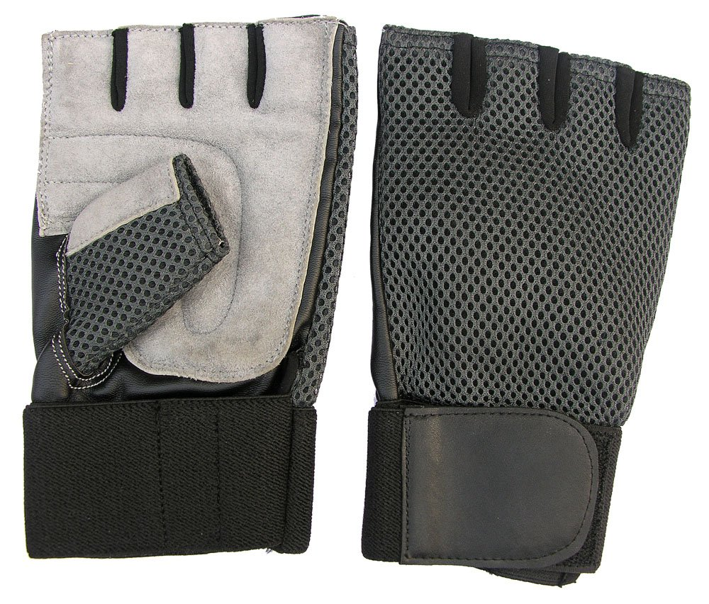 CLAXON Vision Wide Gym Gloves with 5.1cm B0199I84R4 Wide Padded, Wrist Supports & Palm Padded, Large B0199I84R4, トップ学生服:19343e6c --- capela.dominiotemporario.com