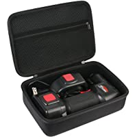 Khanka Hard Travel Case for ONTEL/Oasser Air Hawk Pro Automatic Cordless Tire Inflator Portable Air Compressor