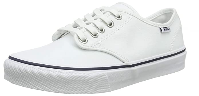 Vans Damen Camden Stripe Classic Sneaker Weiß (Canvas) White/Navy 1xe)