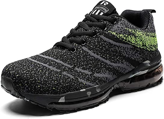 Hombre Mujer Zapatos para Correr Athletic Air Cushion Lace-up ...