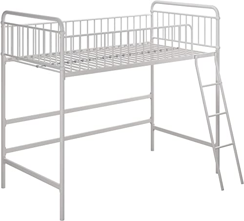 Max Finn Loft bed, Twin, White