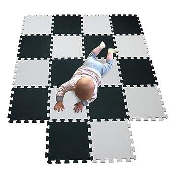 MQIAOHAM área de Juego para niños colchonetas de Espuma de Juego de Bolas Rompecabezas tapete de Juego tapete de bebé alfombras de Juego de Espuma ...