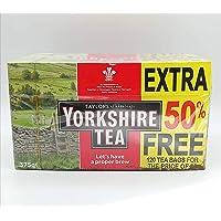 Stationaire speciale Yorkshire thee, extra 50% gratis 120 theezakjes voor de prijs van 80 (pak van 1)