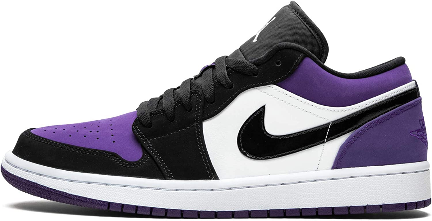 nike air jordan 1 court purple low
