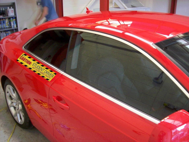 CafePress Student Driver And Nervous Paren Car Magnet 1603092714