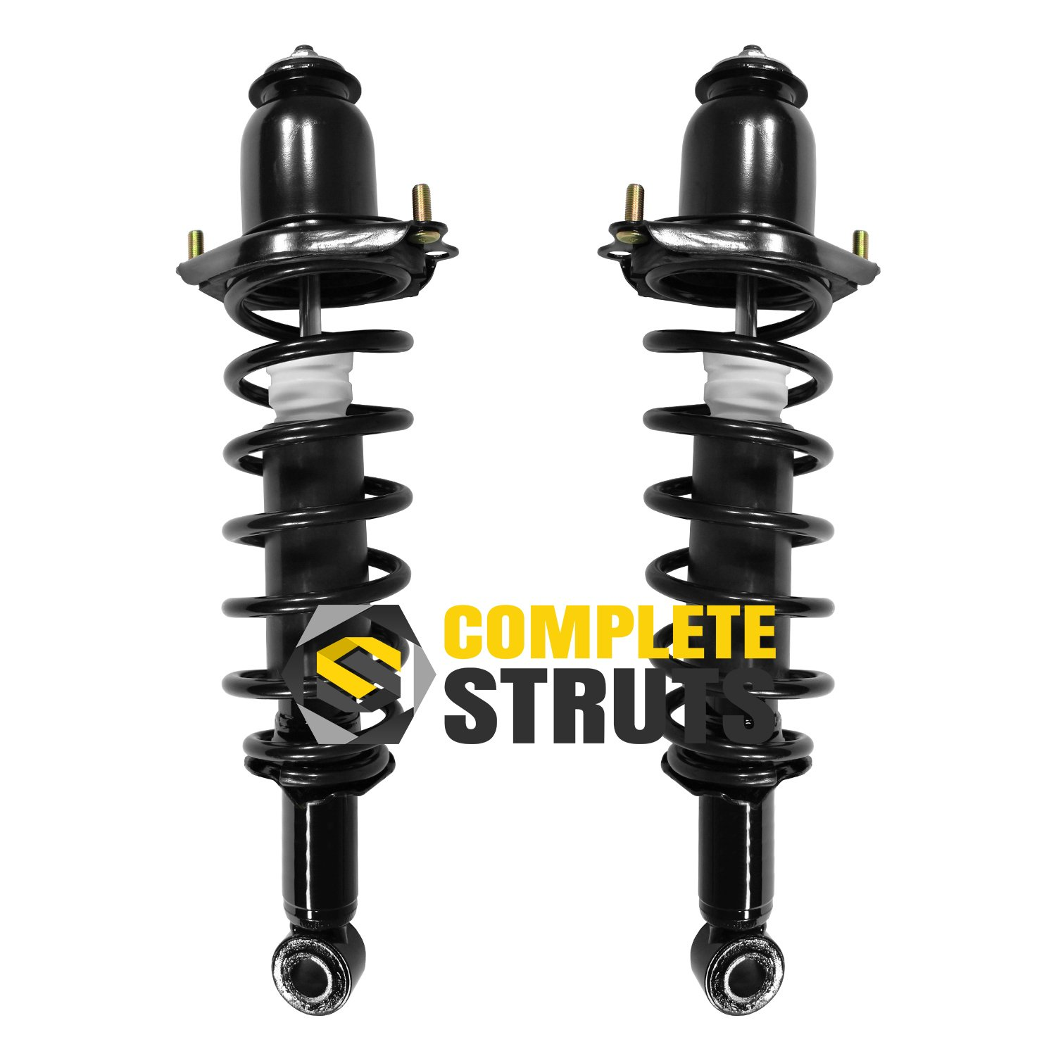 Rear Quick Complete Struts /& Coil Spring Assemblies Compatible with 2003-2008 Pontiac Vibe Pair