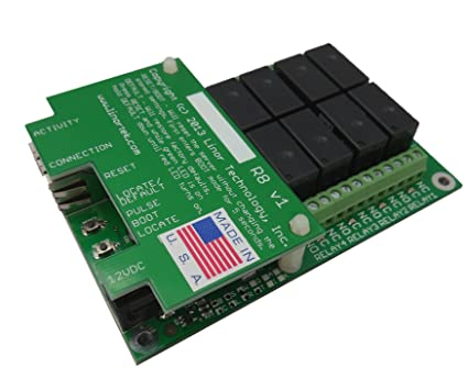 Linortek FARGO G2R8 TCPIP Web Relay Ethernet Relay Remote Control