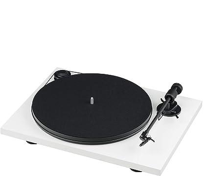 Pro-Ject Project Pri E W tocadisco Vinilo Blanco/Negro: Amazon.es ...